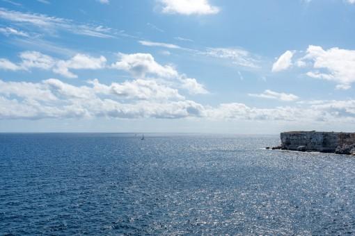 Beeindruckender Blick aufs Meer