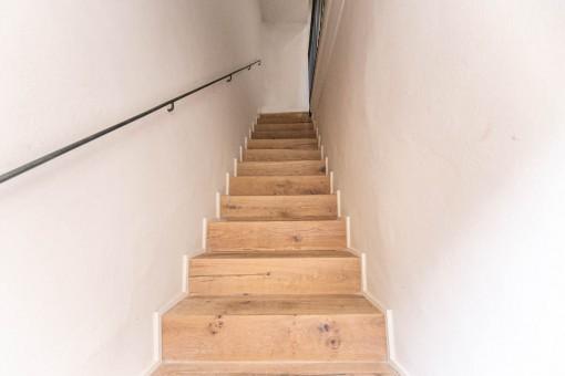 Zugang zur ersten Etage
