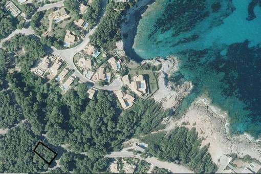Grundstück mit Bauprojekt in Capdepera