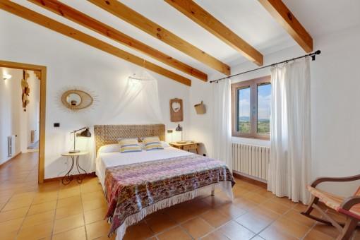 Eines von 3 Doppelschlafzimmern