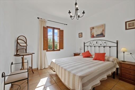 Hauptschlafzimmer der Finca