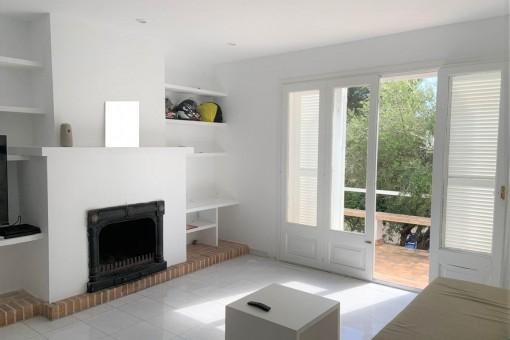 Kürzlich renoviertes Duplex mit Meerblick in exklusiver Gegend von Font de Sa Cala