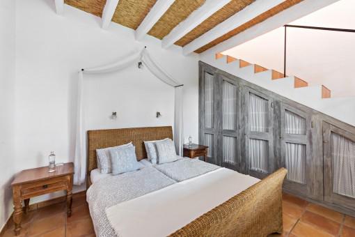 Schlafzimmer des Apartments Tulipan Hiedra