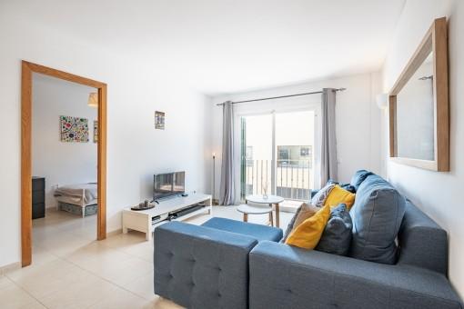 Wunderschöne, sanierte Wohnung mit Garage in Alaró