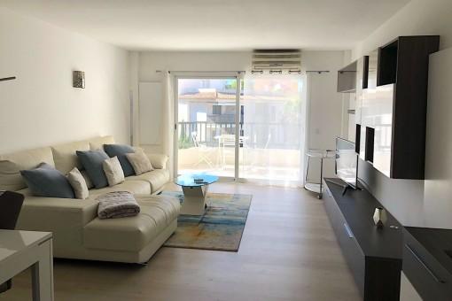 Helle, moderne Wohnung fußläufig zum Strand in Santa Ponsa
