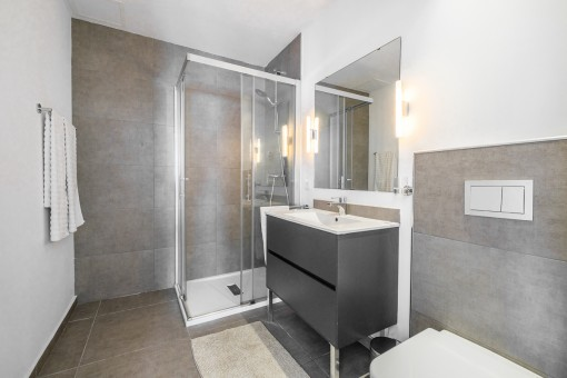 Nobles Badezimmer en Suite