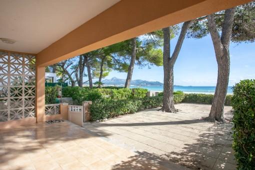 Haus mit 3 Schlafzimmern direkt vor dem Strand von Alcudia
