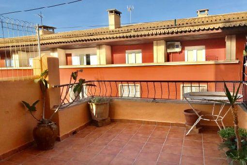Unmöbliertes Apartment mit Terrasse nahe Plaza España in Palma