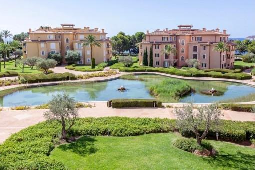 Luxus-Apartment in exklusiver Wohnanlage nähe Puerto Portals