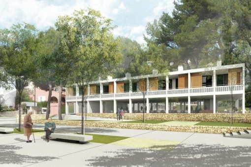 Grundstück und Projekt für ein Wohngebiet für ältere Menschen mit Bebauung bis zur Ebene 0 in Costa de la Calma