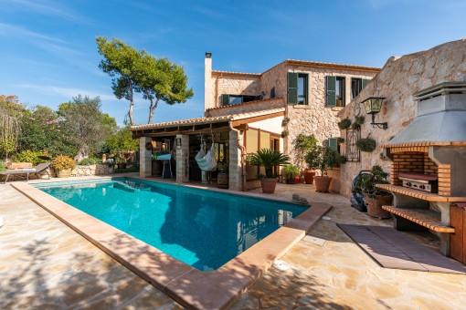 Traumhafte Villa in hochwertiger Bauqualität in Cala Santanyi