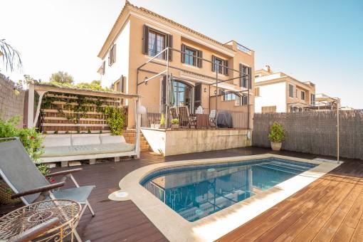 Gemütliche Doppelhaushälfte in begehrter Wohnlage in Puig de Ros
