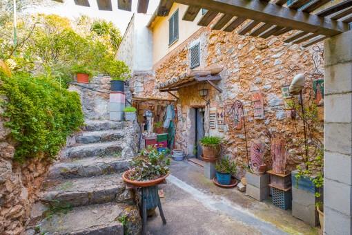 Finca in Alaró im alten Stadtkern mit viel Potential