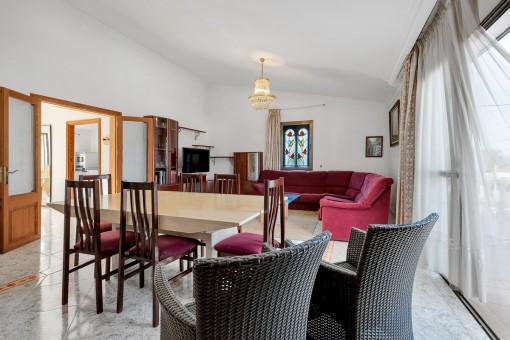 Apartment im Obergeschoss