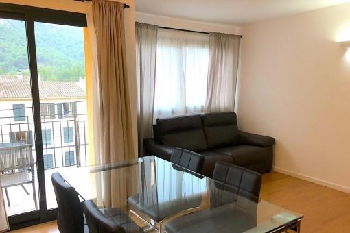 Teilmöblierte Wohnung zentral gelegen in Andratx