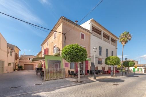 Charmante Cafeteria und Wohnung im Herzen von Son Carrio