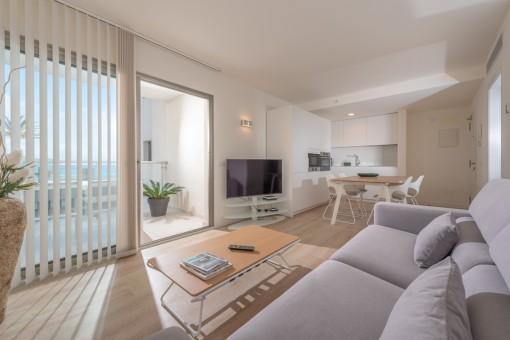 Fantastisches Apartment in erster Meereslinie in Cala Millor