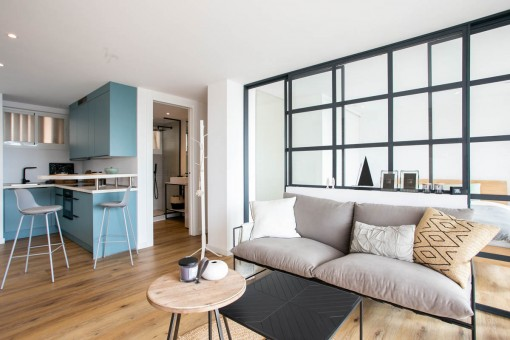 Renoviertes Erstbezug-Apartment mit Gemeinschaftspool und Meerblick in San Augustin