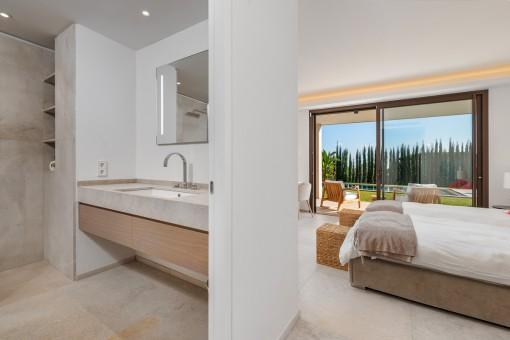 Elegantes en Suite Badezimmer
