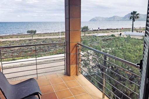 Mietwohnung mit Panoramablick über die Bucht von Alcudia in Son Serra de Marina ab sofort ganzjährig verfügbar