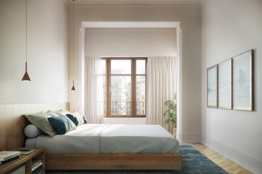 Noble Schlafzimmer