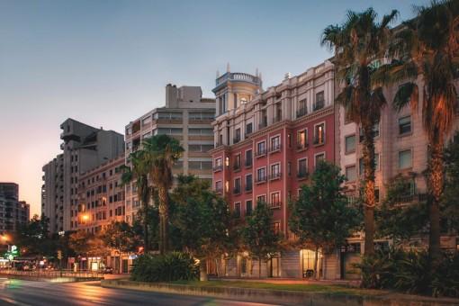 Es gibt insgesamt 16 Apartments