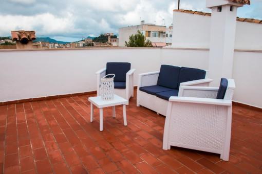 Wohnung mit 3-Schlafzimmern, 2 Badezimmern und großer Dachterrasse zur privaten Nutzung in Artá