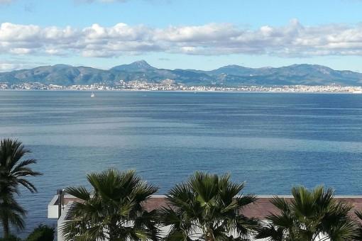 Apartment in Bellavista mit traumhaftem Blick auf die Bucht von Palma