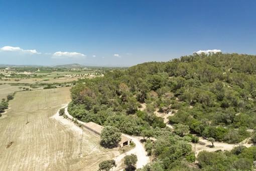 Für Investoren - 8 bebaubare Grundstücke mit Panoramablick in Porreres