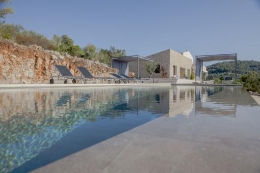 Finca mit Panoramablick und Lizenz zur Ferienvermietung bei Arta