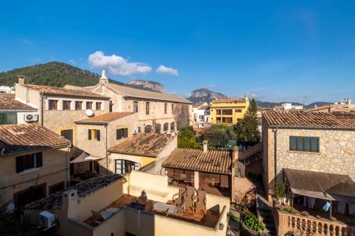 Schönes Duplex-Apartment mitten im Dorf von Alaró