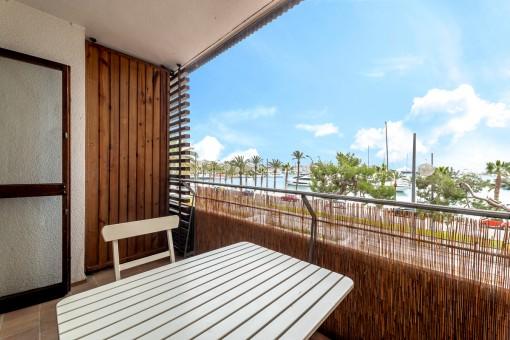 Apartment mit Blick auf den Club Náutico in Palma