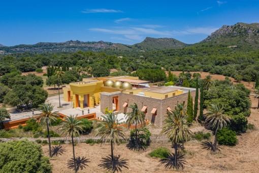 Eine Verschmelzung von Orient und Okzident - extravagante, bewundernswerte Villa in Artà