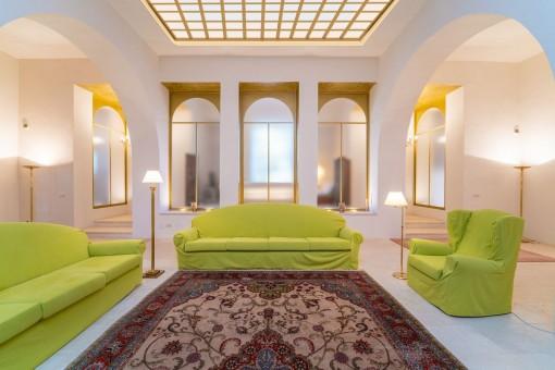 Außergewöhnliches Interiordesign