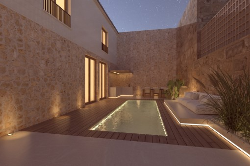 Pool und Patio