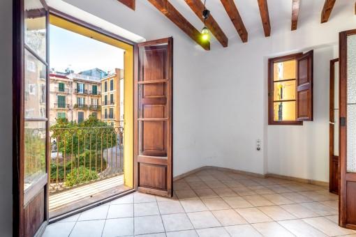 Charmante und sonnige Wohnung in schöner Altstadtlage in Palma