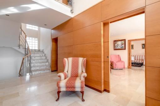 Elegante und moderne Räume