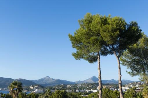 Panoramablick auf den Puig de Galatzo