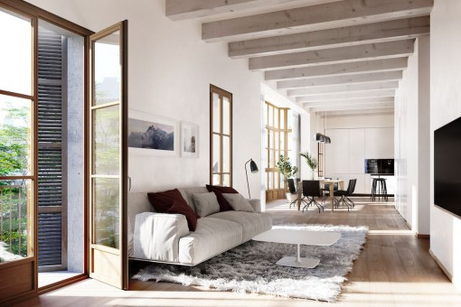 Geräumiges Neubau Apartment in Palma