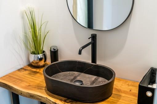 Stylisches Gäste-WC