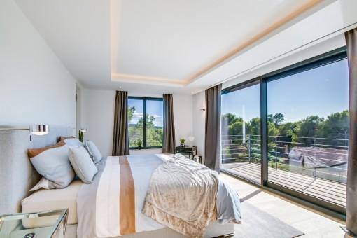 Traumhaftes Meerblick-Schlafzimmer