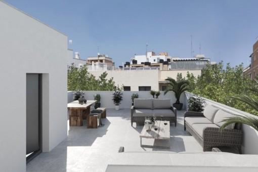 3 SZ Penthouse in einem attraktiven Neubauprojekt mit 9 Wohneinheiten in Palma City