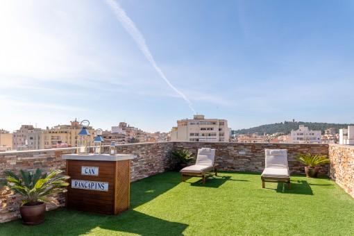 Penthouse mit großer Dachterrasse im entspannten Viertel Son Españolet