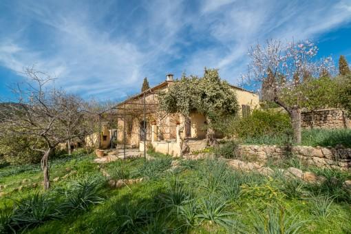 Ursprüngliche Natursteinfinca zur Komplettsanierung nahe Alaró