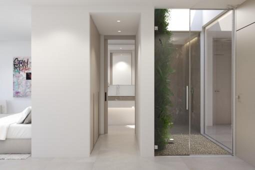 Zweites Schlafzimmer mit Badezimmer en Suite