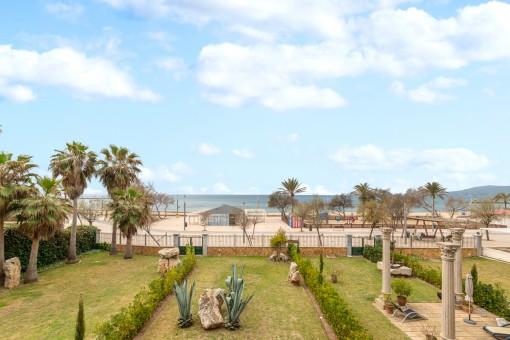 Modernes Apartment in erster Meereslinie und ruhiger Wohnlage in Ciudad Jardin