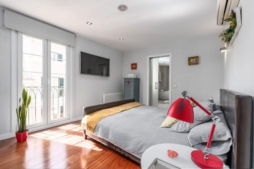 Ansicht des Doppelschlafzimmers