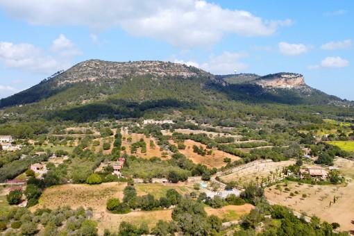 Blick zum Puig de Randa