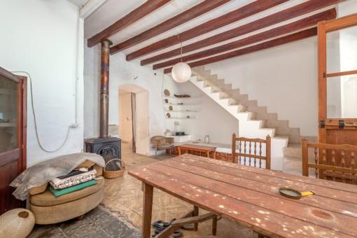 Zugang zum Obergeschoss