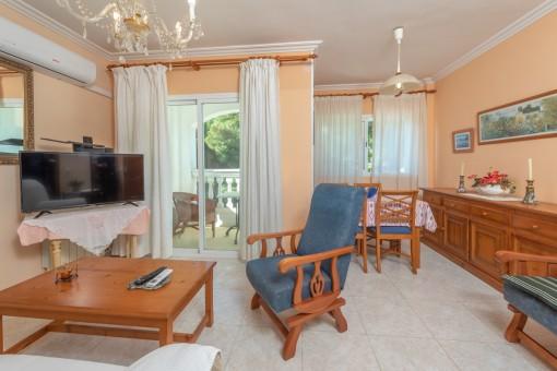 Wohn-und Essbereich, Apartment 2